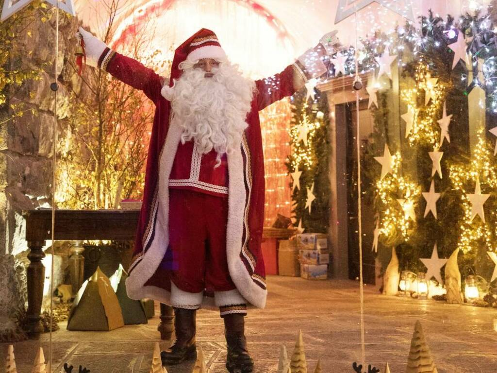 Gromo riapre la Casa Bergamasca di Babbo Natale