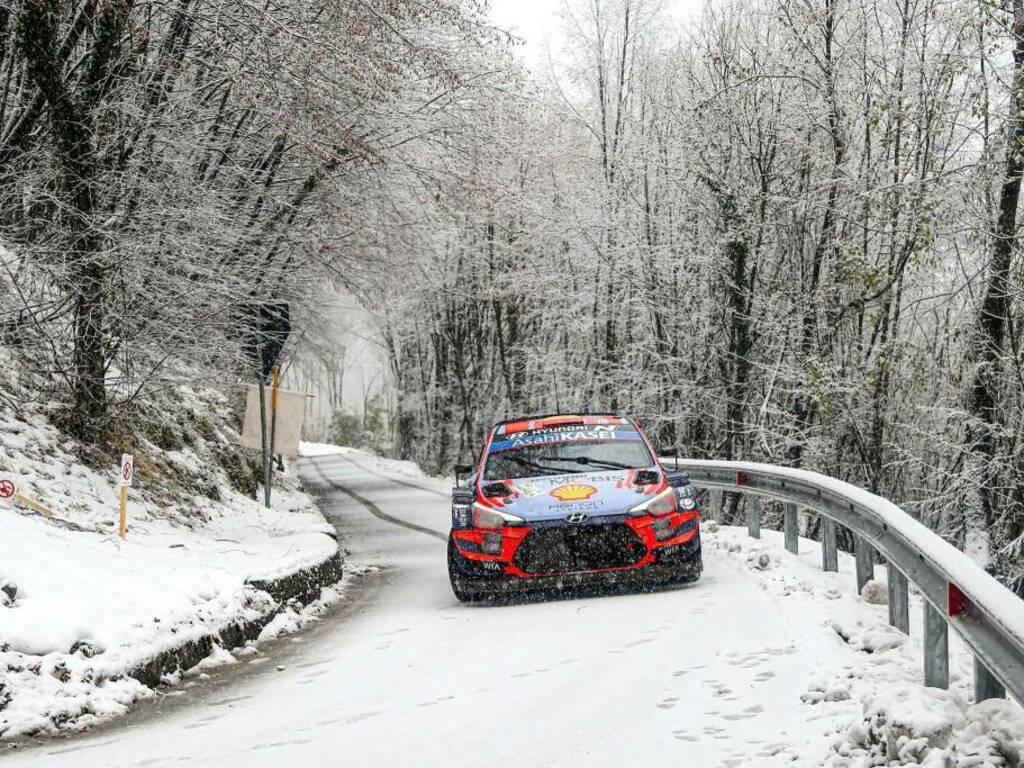 Mondiale Rally 2020 (dalla pagina Facebook dell'ACI Rally di Monza)