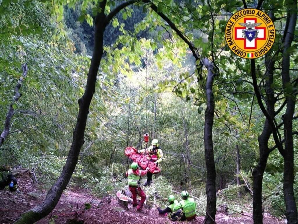soccorso alpino Talamona