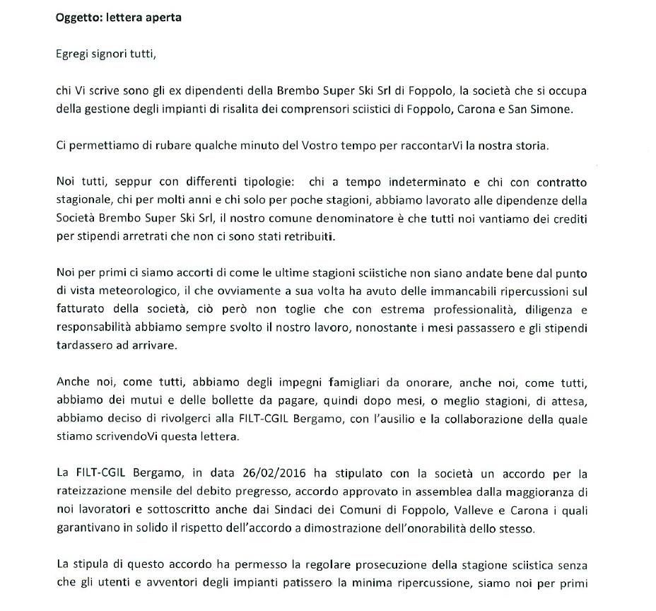 La lettera (parte 1)