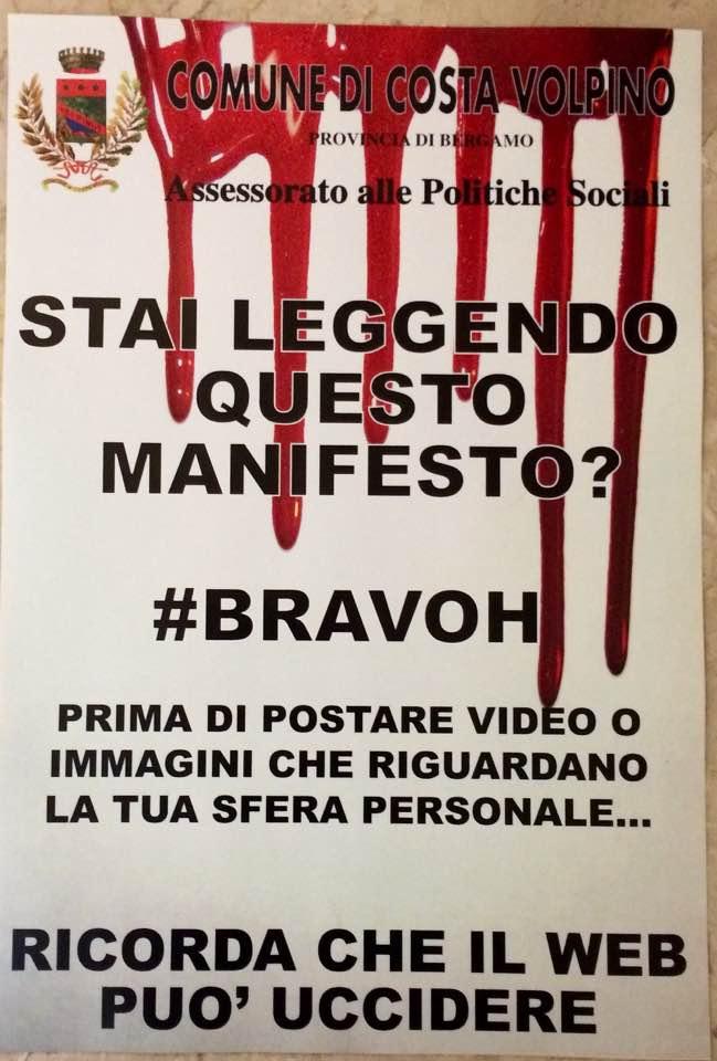 Manifesto Costa Volpino #Bravoh