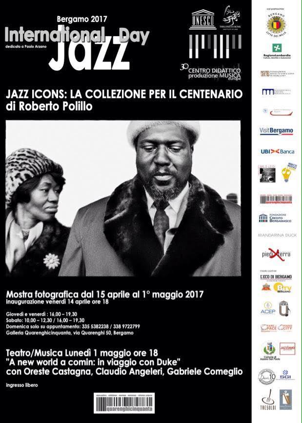 Locandina Jazz Icons