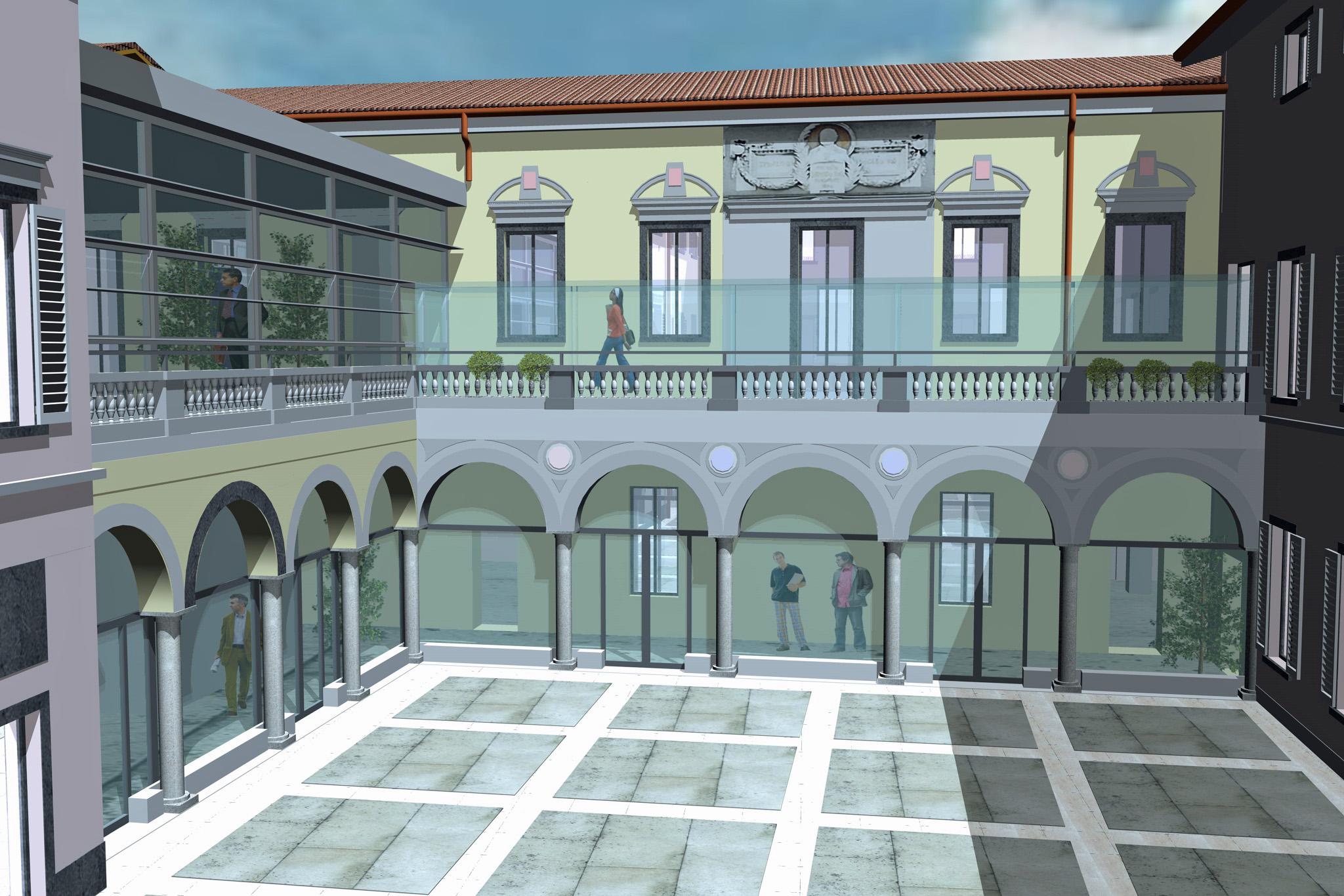 Facile Ristrutturare Opinioni Architetti nuovo futuro per la fondazione rubini: sviluppo